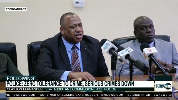 Police renews zero tolerance on crime