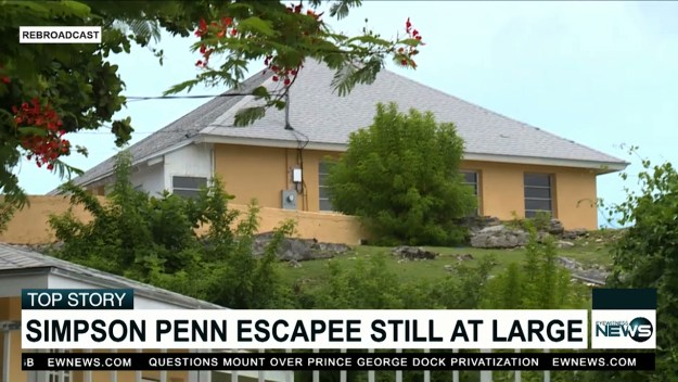 Simpson Penn escapee still at large