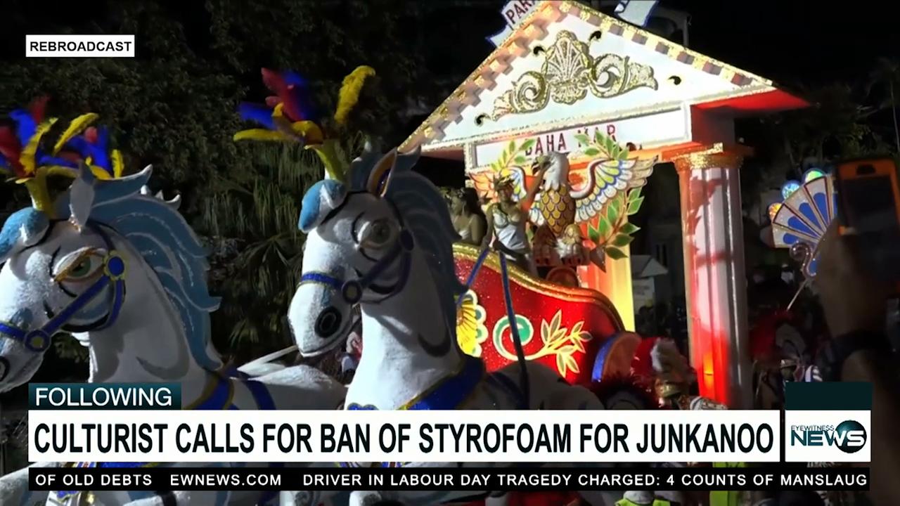 Culturalist calls for ban on styrofoam from Junkanoo