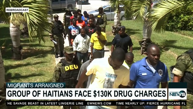 13 Haitians charged for drug bust