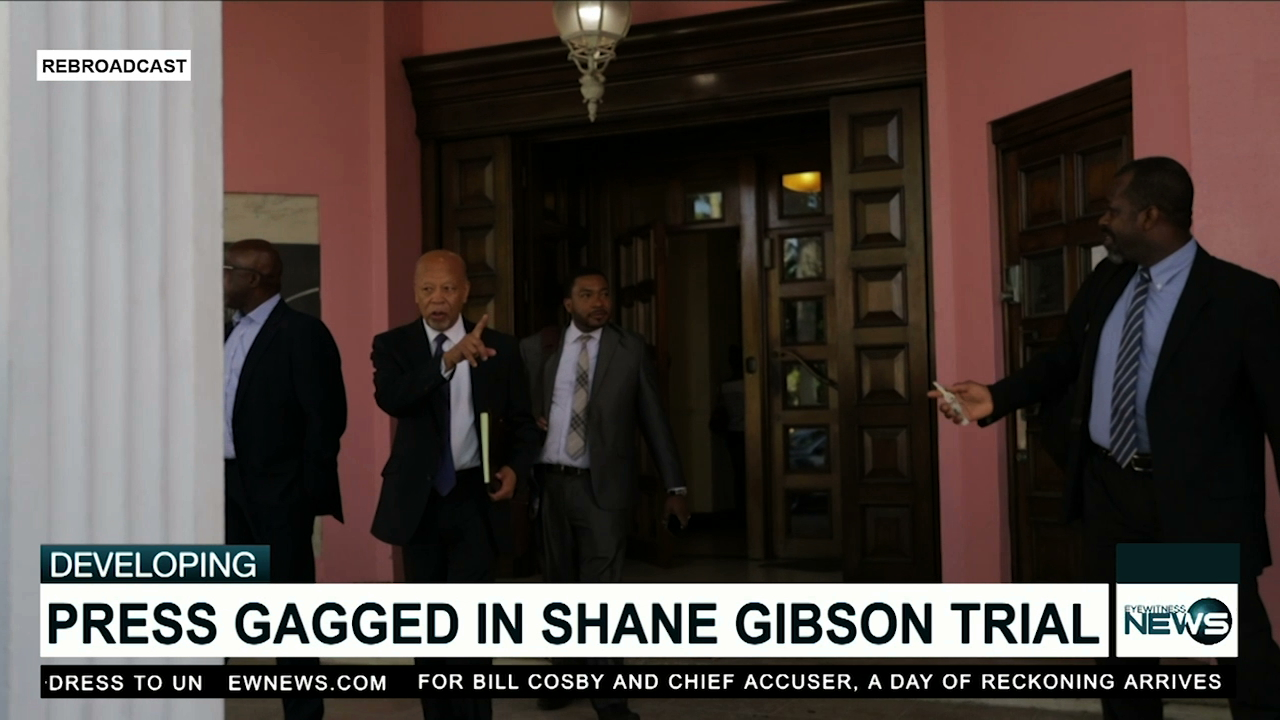 Press gagged in Gibson trial