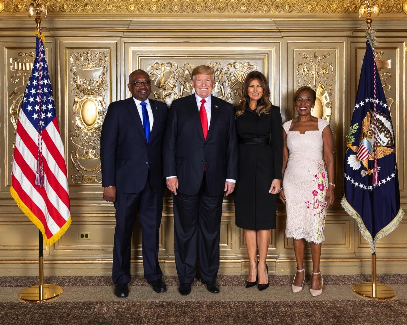 PM meets U.S. President Donald Trump