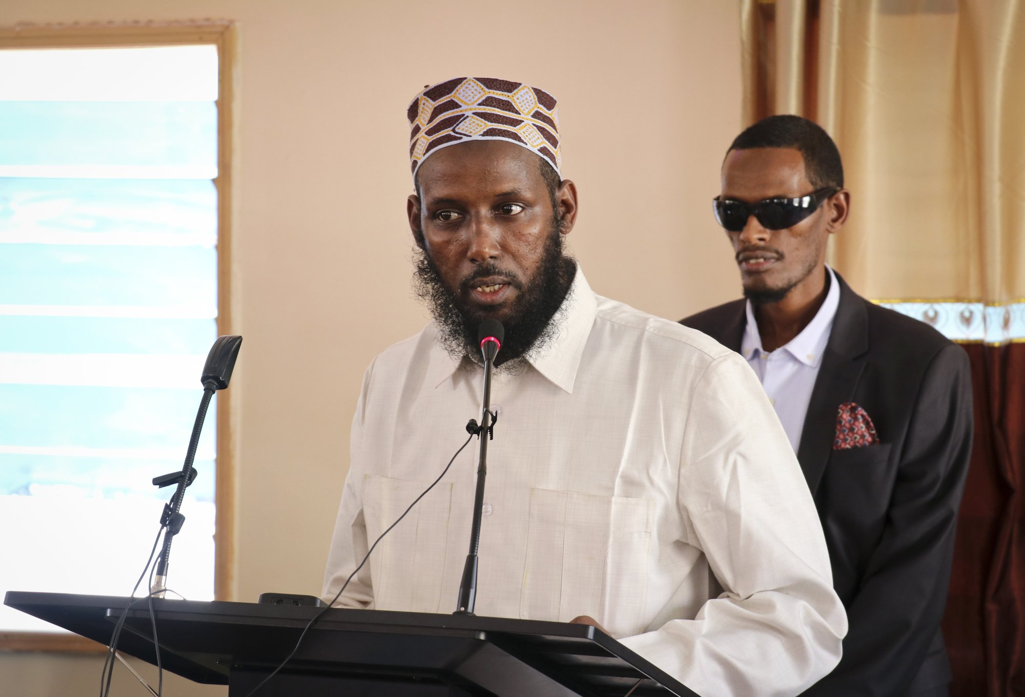 Al-Shabab's former No. 2 leader runs for office in Somalia