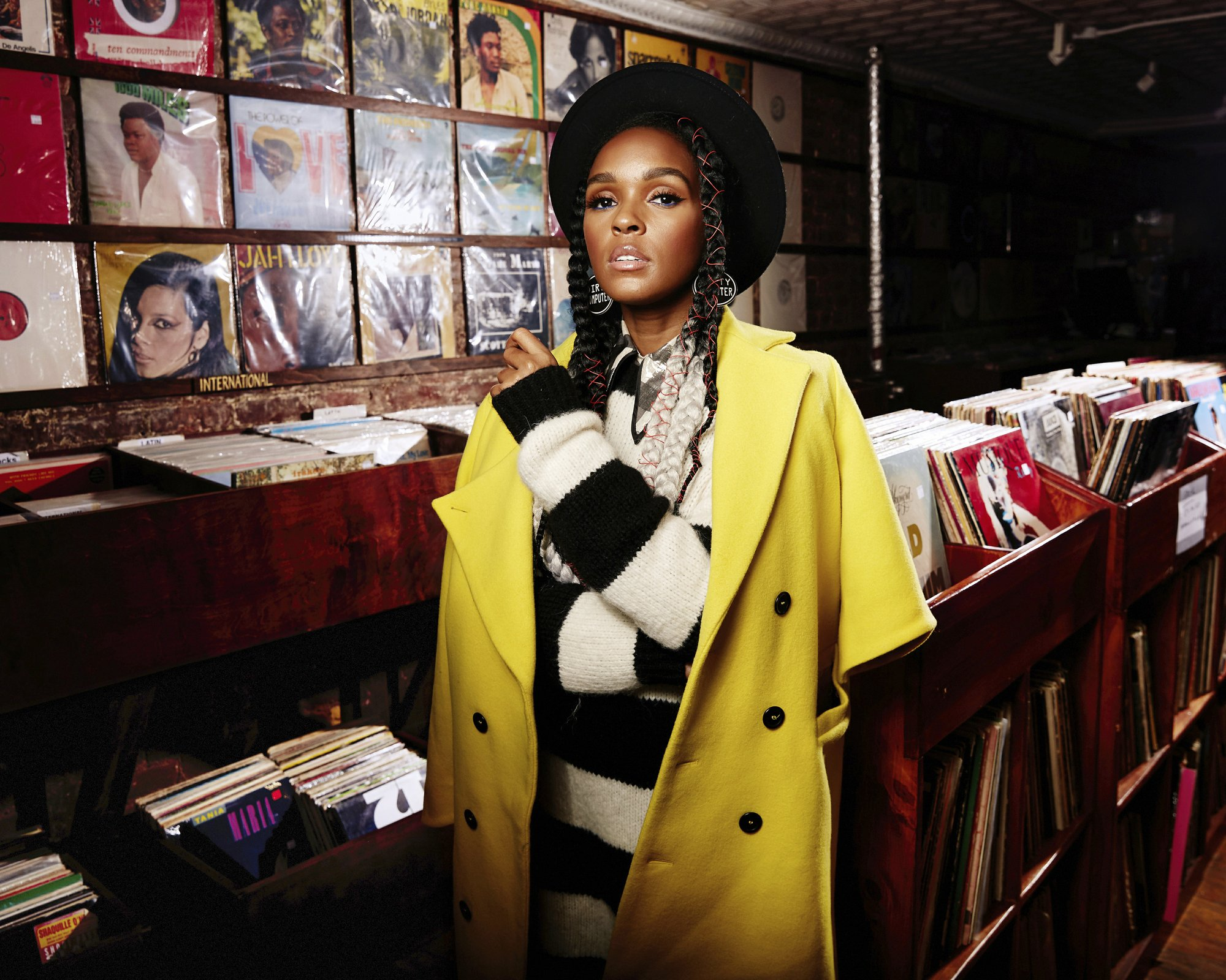 Janelle Monae on Lauryn Hill, vinyl and 'Dirty Computer'