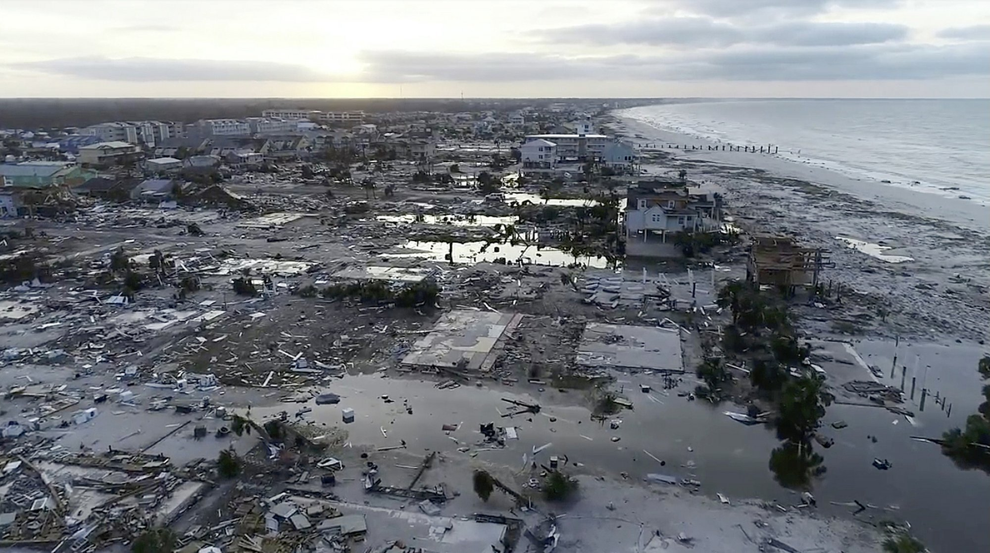 Death toll rises to 6 in wake of Hurricane Michael's rampage