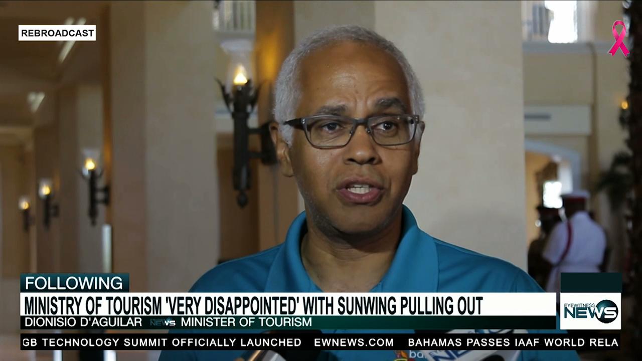 Govt. lashes back at Sunwing