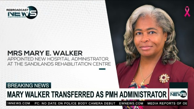 Mary Walker moved as PMH Administrator