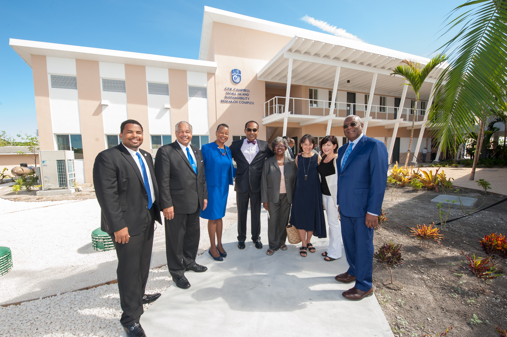 UB opens first Small Island Sustainability Research complex
