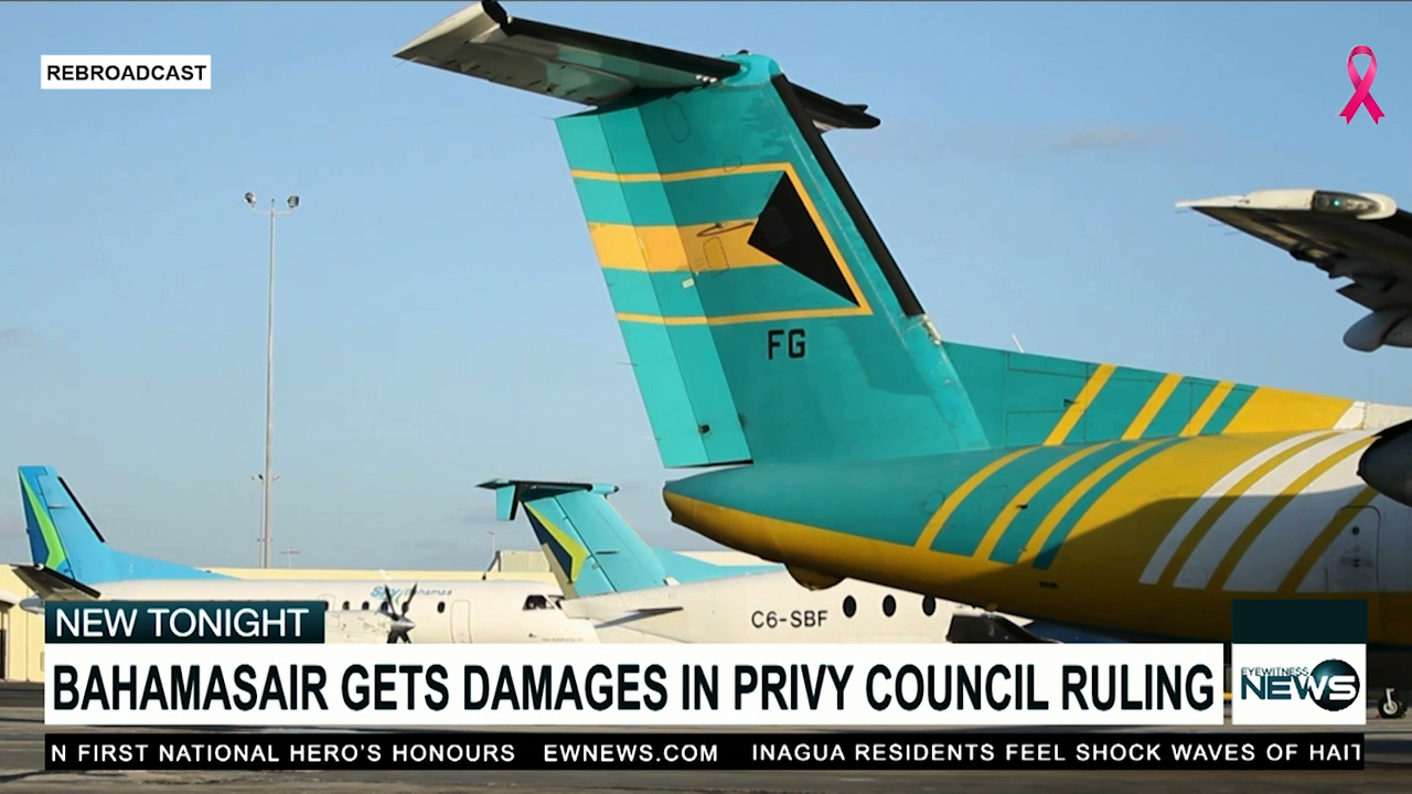Bahamasair Managing Director happy about Privy Council ruling