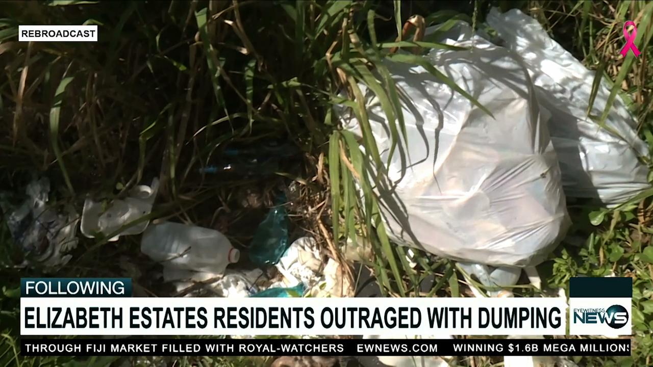 Excessive dumping upset Elizabeth Estates residents