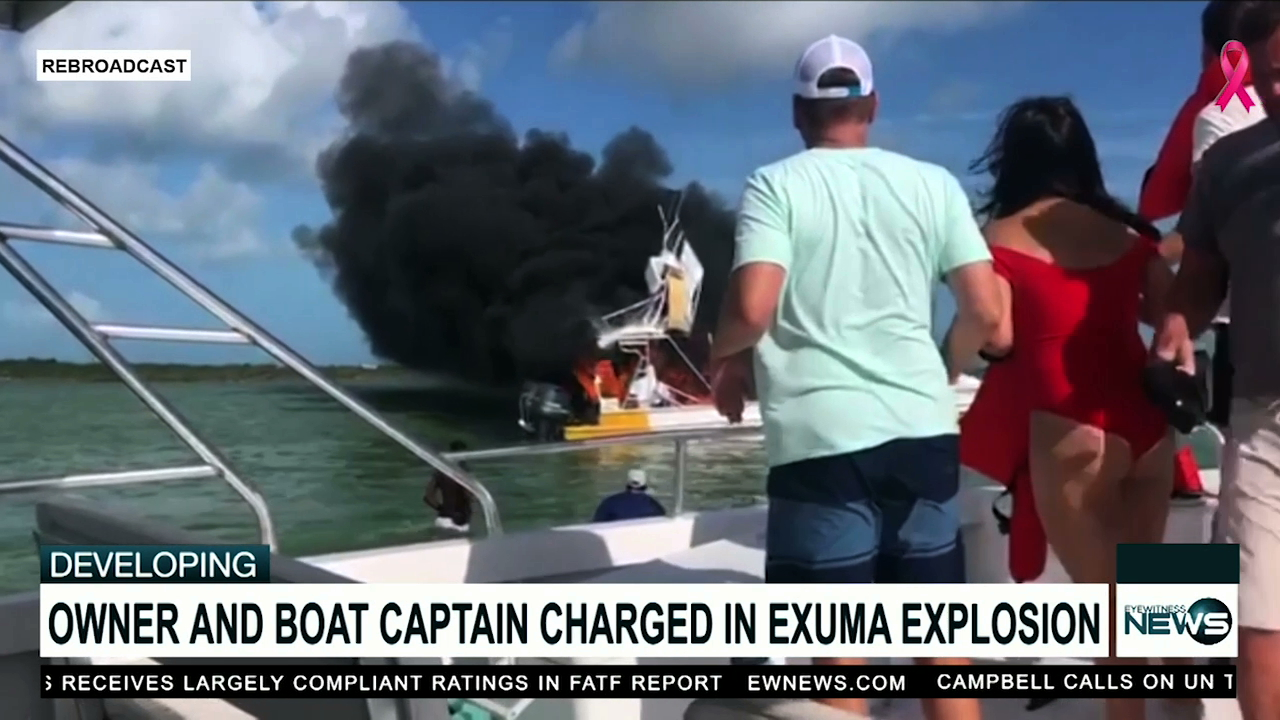 Two charged in deadly Exuma boating excursion