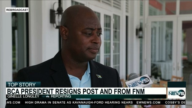 Sands resigns from BCA, FNM