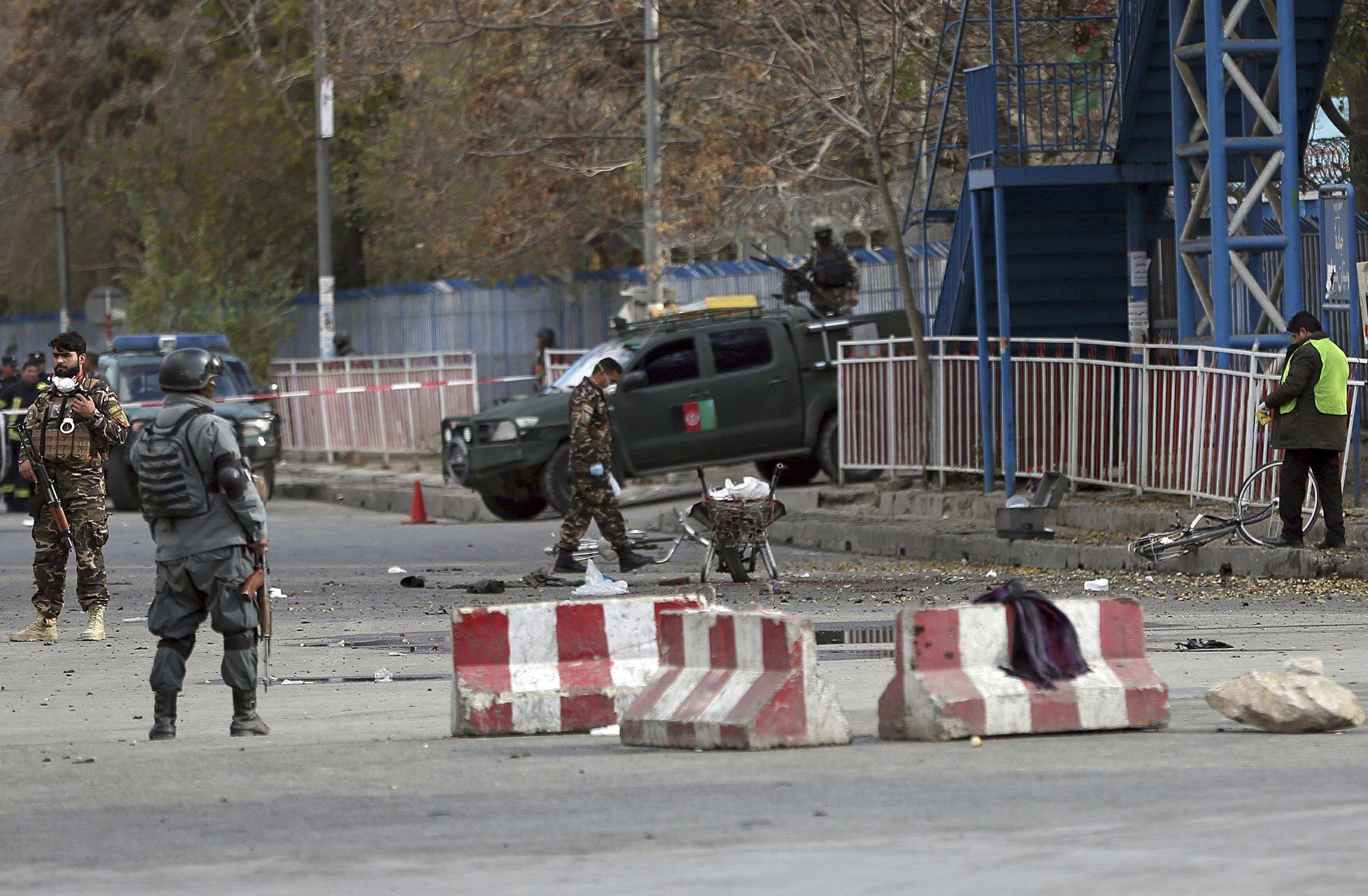 Suicide bomber in Kabul targets anti-Taliban rally, kills 4