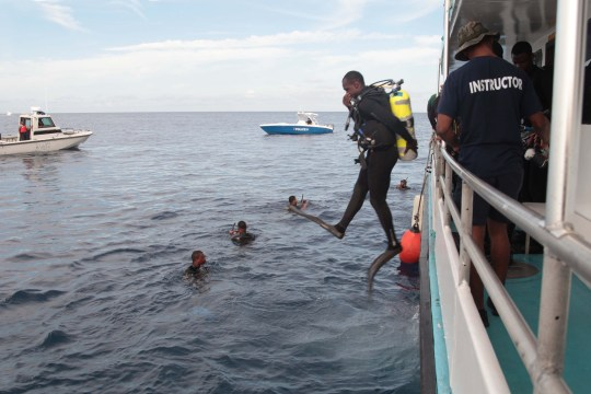 RBDF assists in joint rescue effort at sea