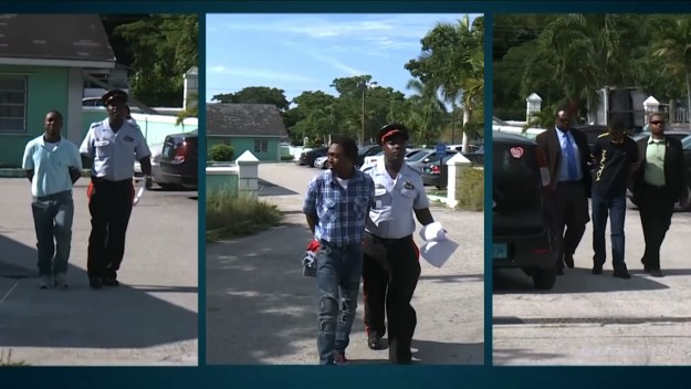 Three appear in court on separate charges