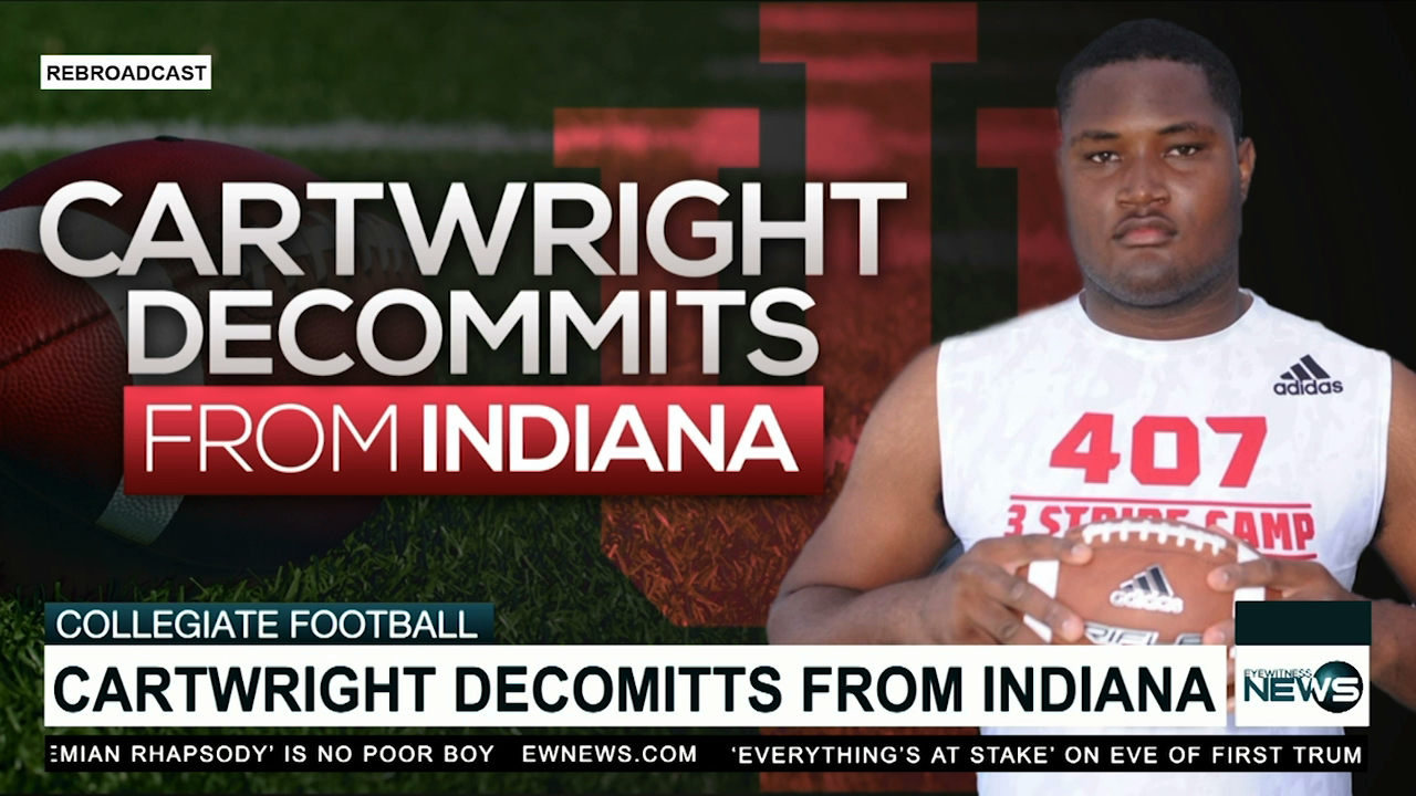 Cartwright decommits from Indiana