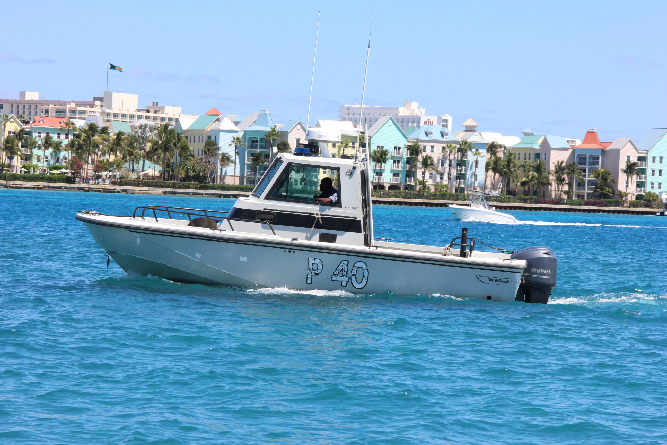 Two men rescued by RBDF after boat capsizes