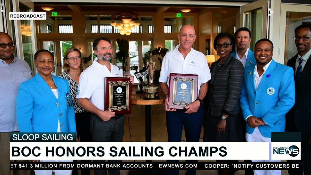 BOC honors world champion sailors