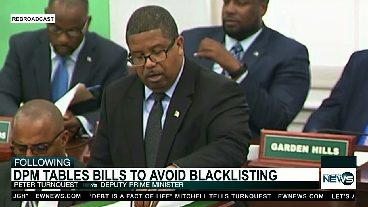 DPM tables bills to ensure Bahamas is not blacklisted