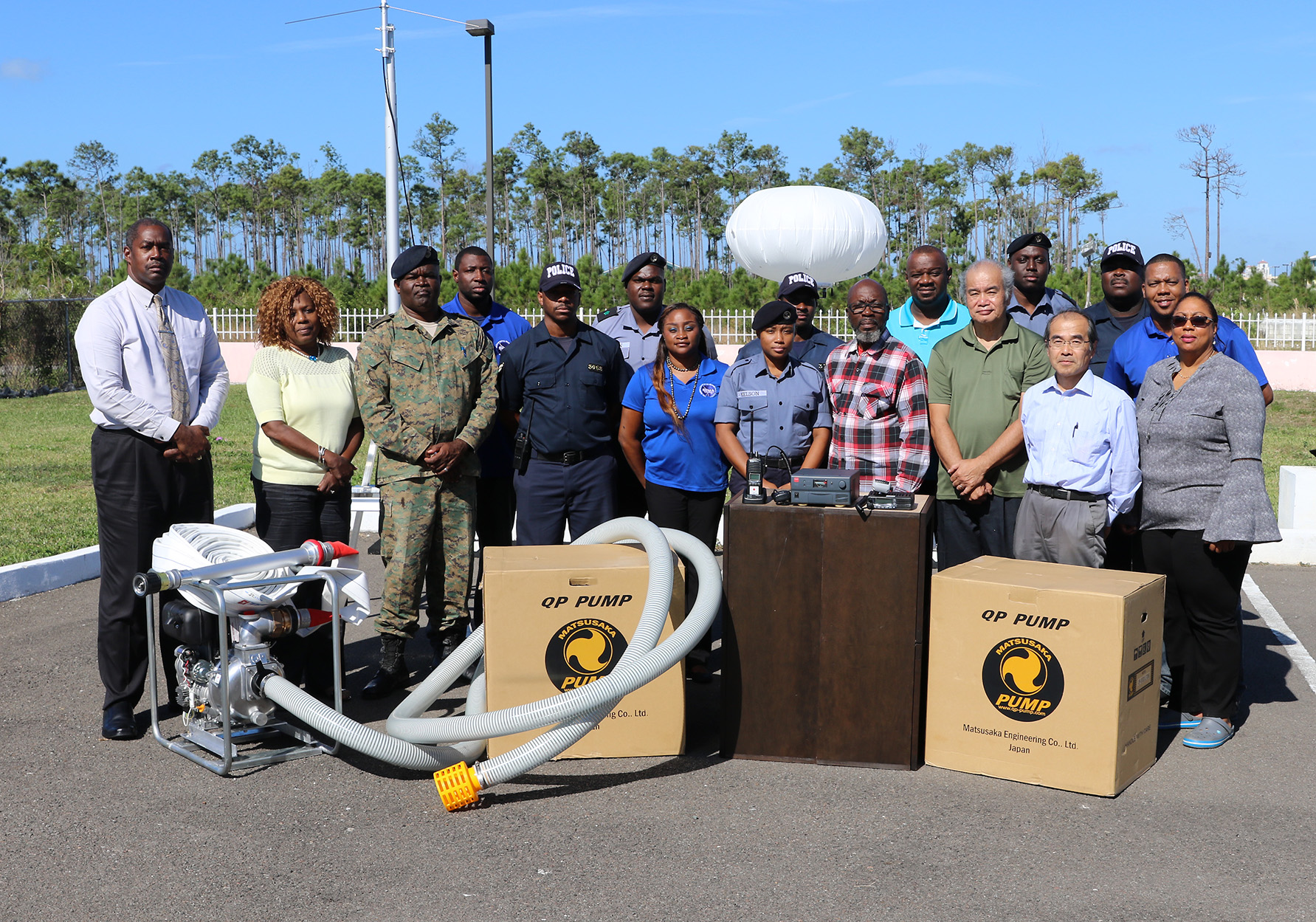 NEMA receives equipment from Japanese Grant Aid project