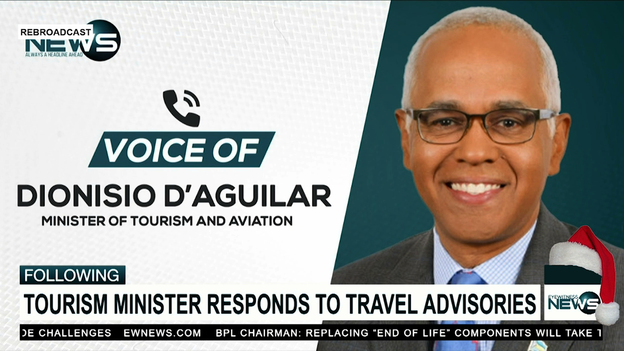 D'Aguilar: Govt. blindsided by Canadian govt. warning