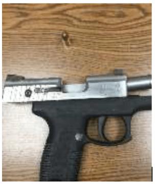 Man arrested in GB for illegal firearm