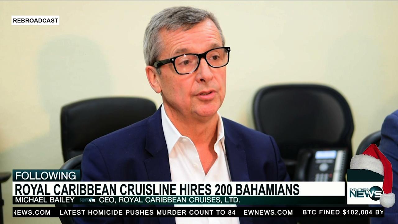 Royal Caribbean hires more than 200 Bahamians