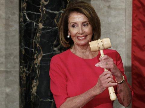 Speaker again, Pelosi sees 'new dawn' for 116th Congress