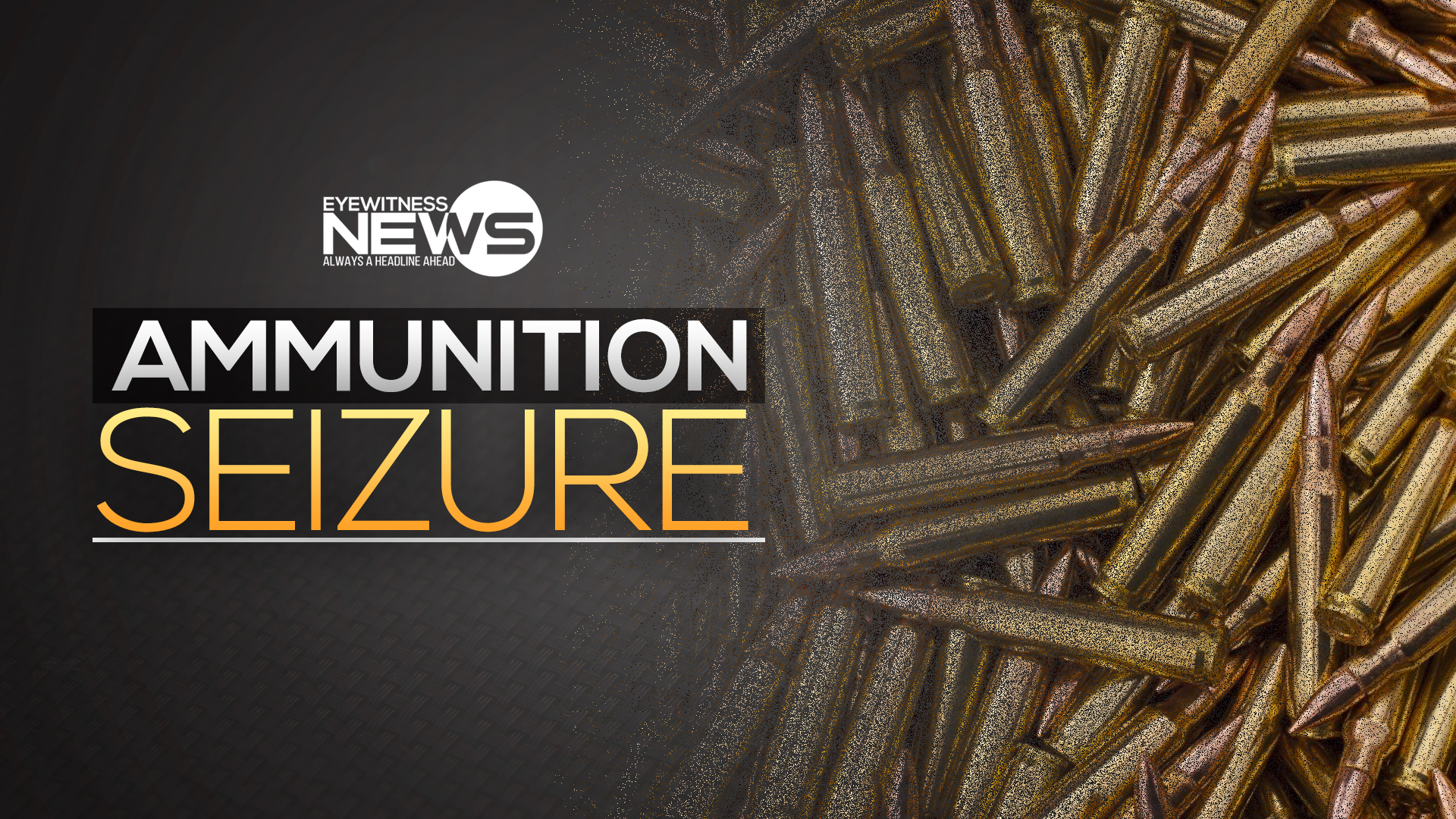 Illegal firearm and ammunition seized, two arrested