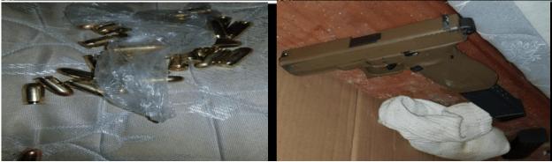 Illegal firearm seized, adult male in custody