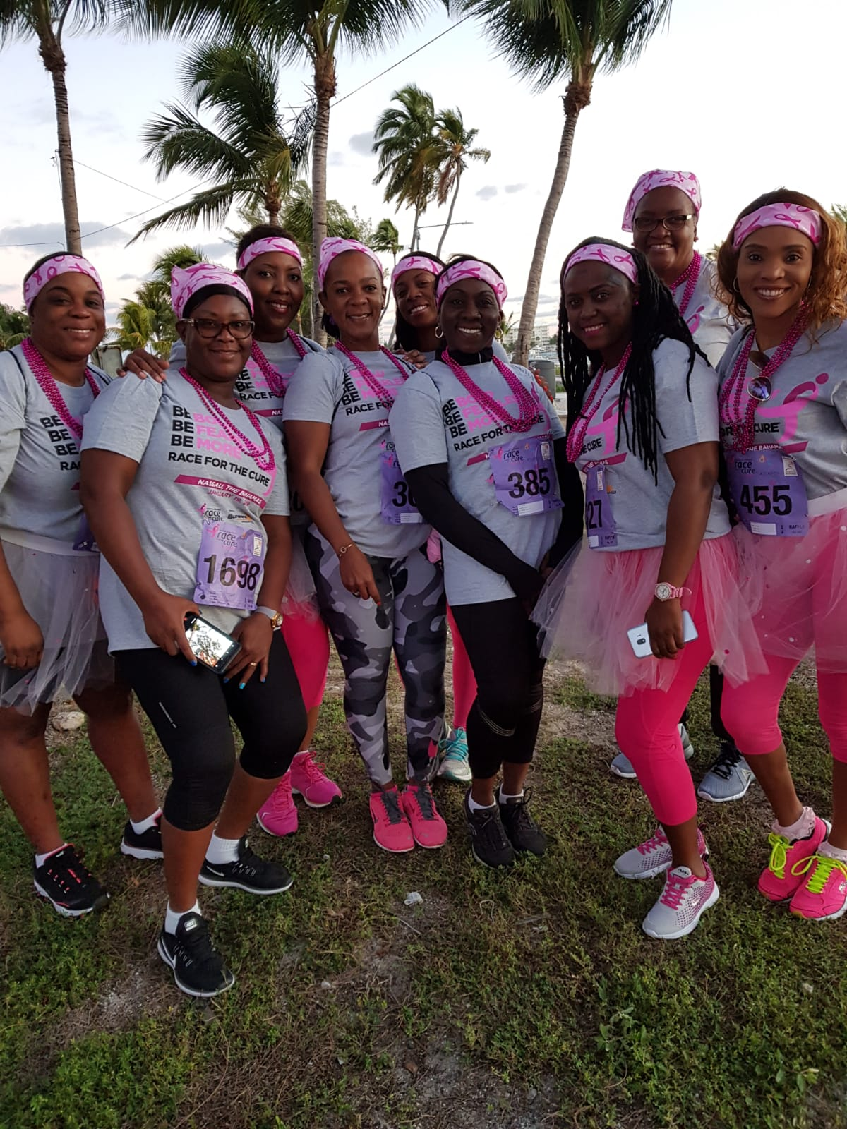 Strong support shown at Susan G. Komen Race for the Cure