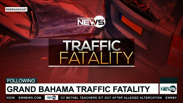 Grand Bahama records traffic fatality