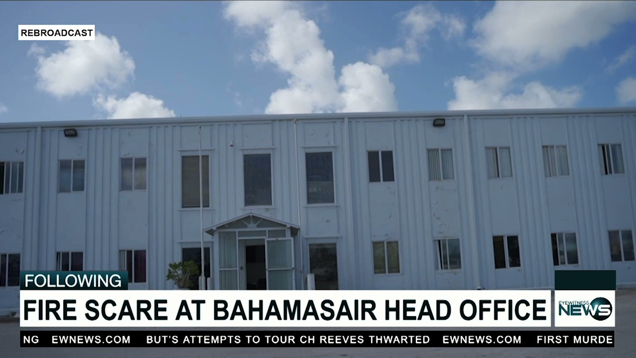 Fire scare at Bahamasair's head office