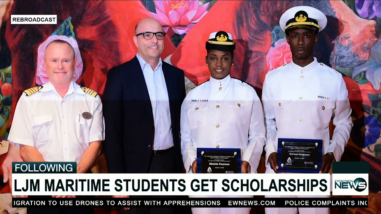 RCCL gives scholarships to two maritime students