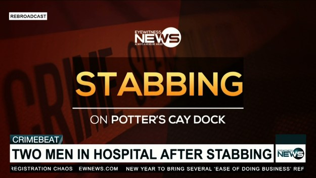 Stabbing reported at Potter's Cay Dock