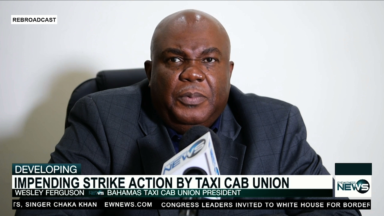 Bahamas Taxi Cab Union threatens to strike