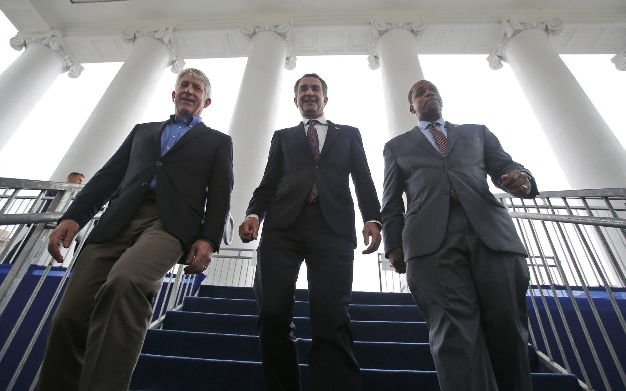 Political crisis engulfs Virginia's top 3 elected officials