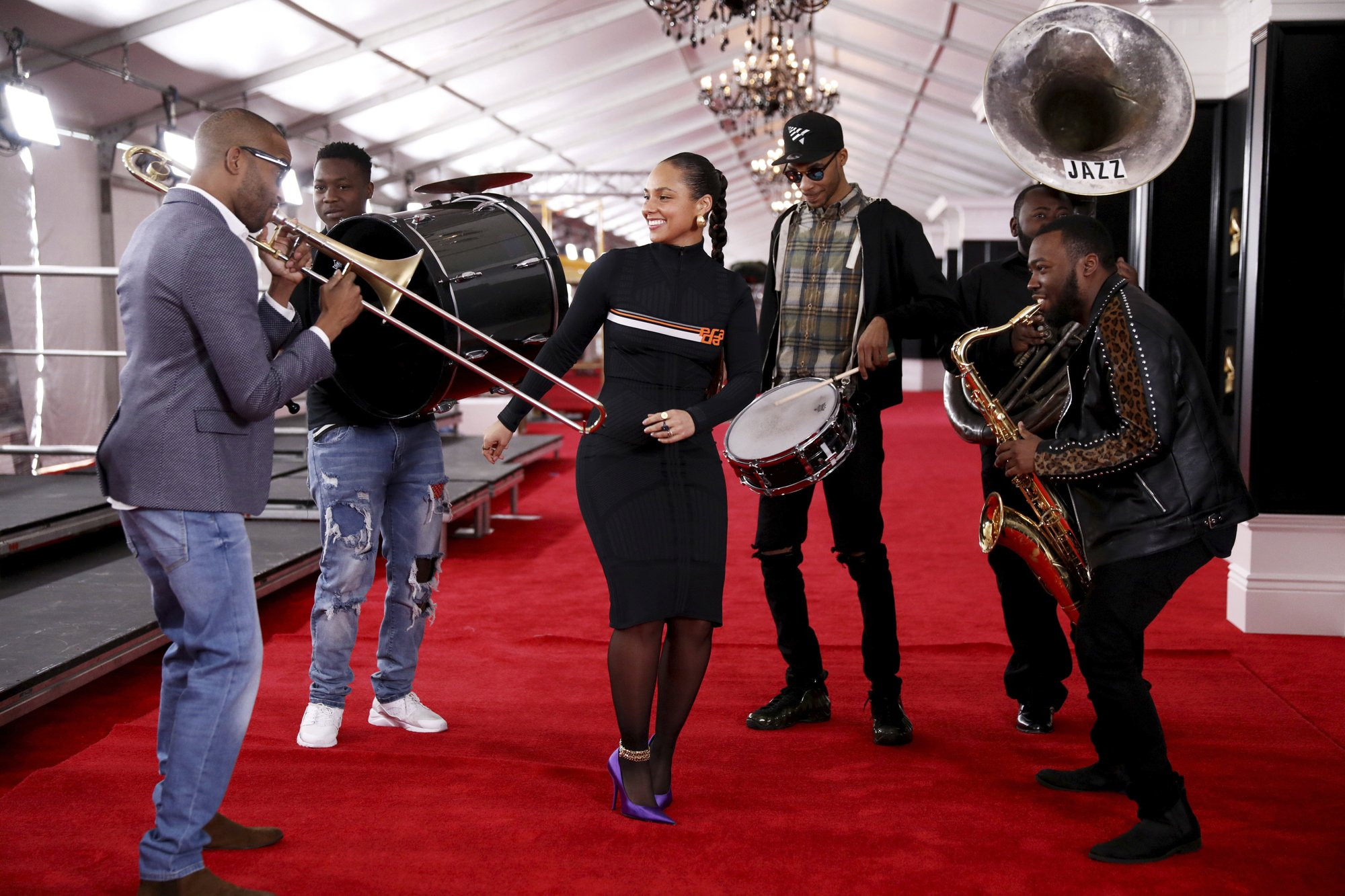 Alicia Keys says Grammys will be about the 'power of music'
