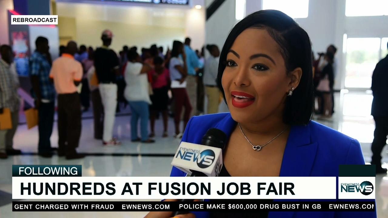 Fusion Superplex holds job fair