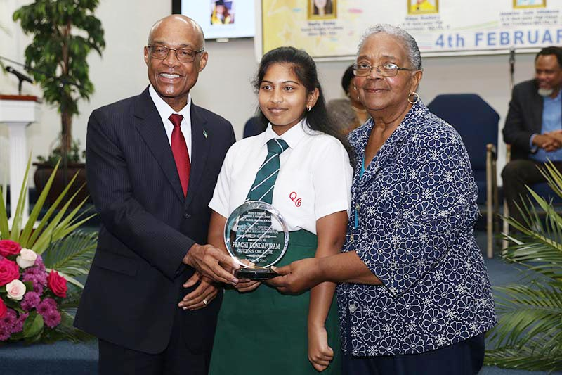 Queen's College student wins 'Best Overall Performance' in 2018 BGCSE examinations
