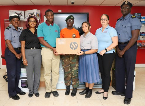 RBDF Rangers receive computer equipment