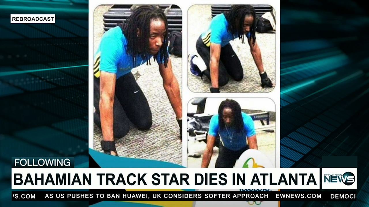 Bahamian track athlete found dead in Georgia