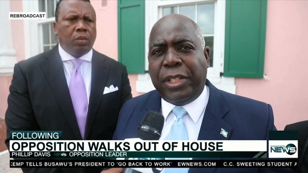 Davis hits govt. following arrest of PLP supporters