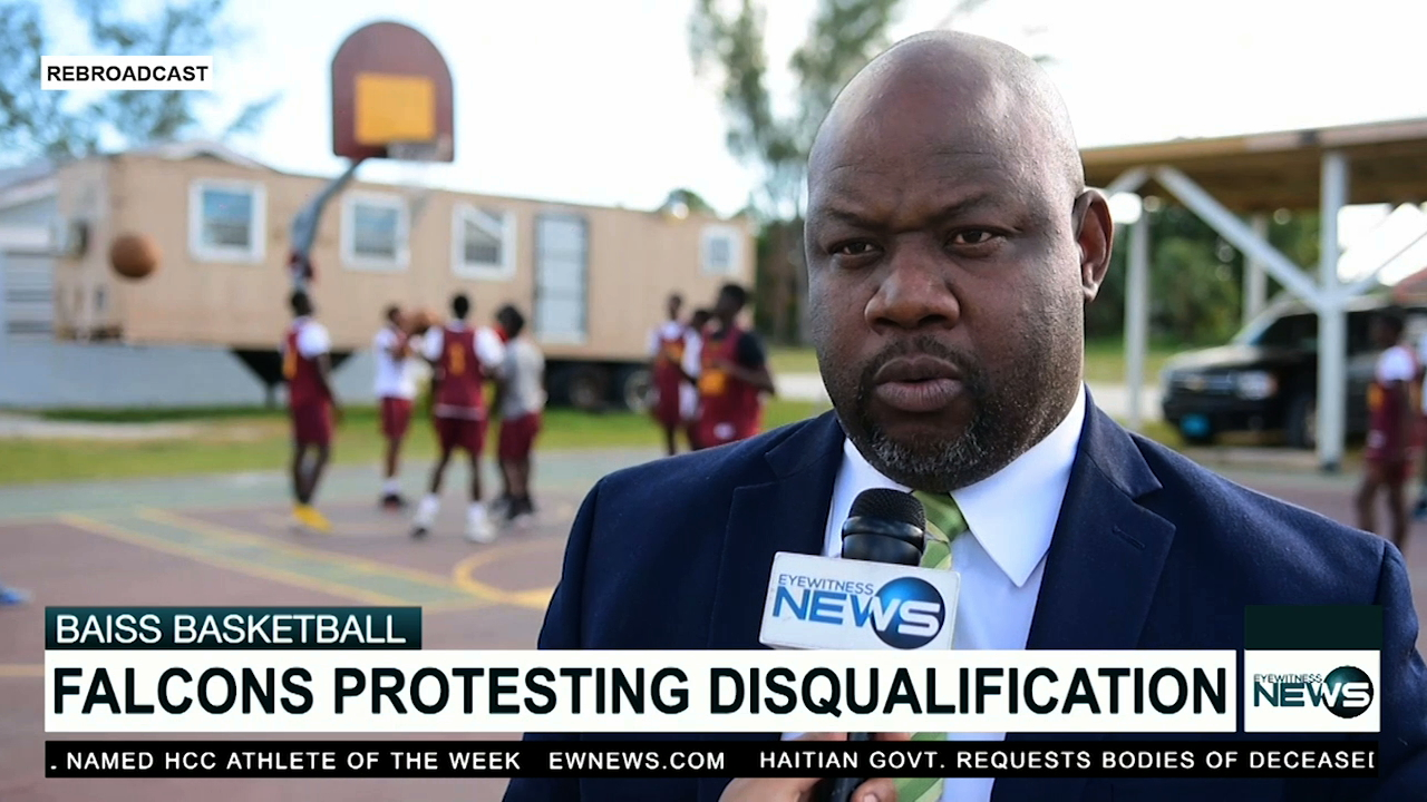 Falcons protesting disqualification