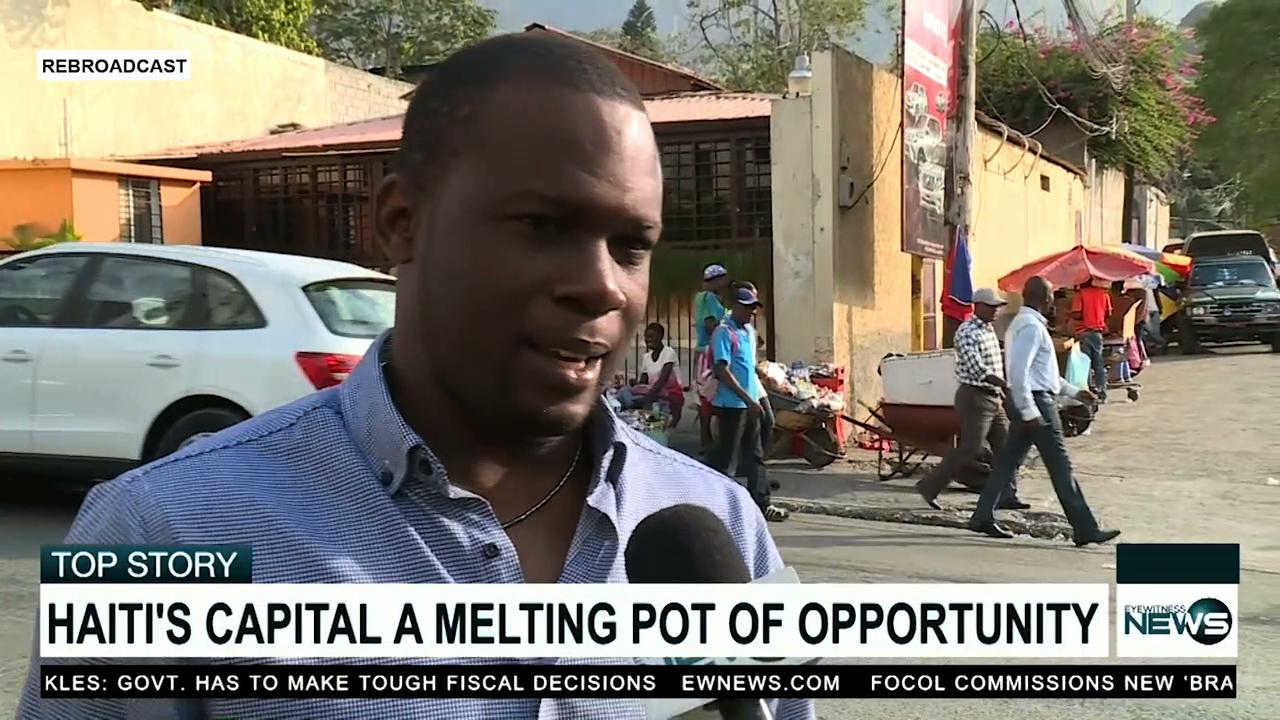 Haiti's capital a melting pot of opportunity