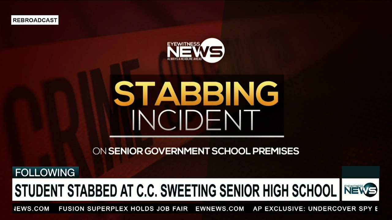 C.C. Sweeting student allegedly stabbed