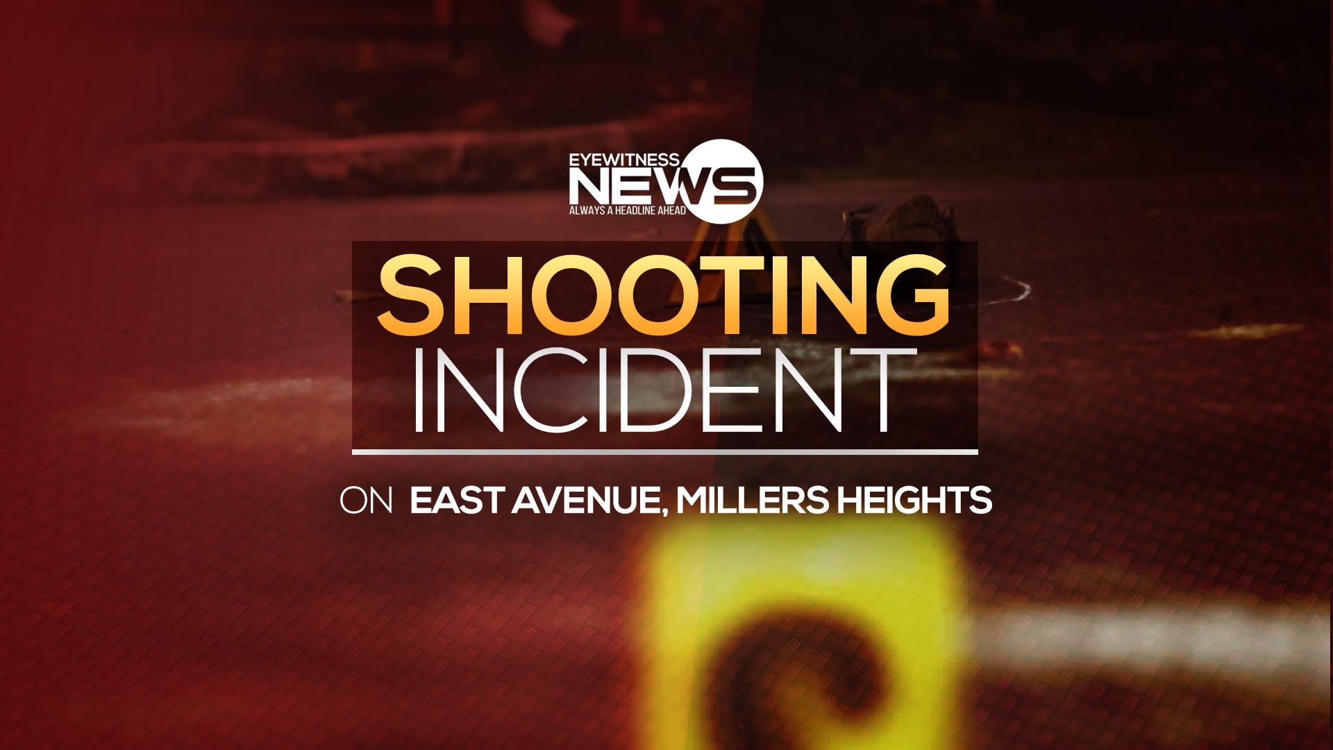 Three shot outside home in Miller's Heights