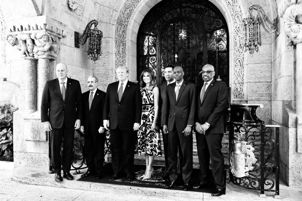 PM, Caribbean leaders meet with President Trump
