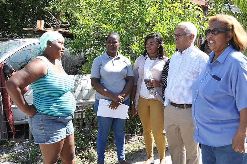 Urban Renewal Commission community walkabout