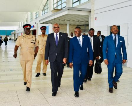 PM departs Nassau for meeting with US President Trump